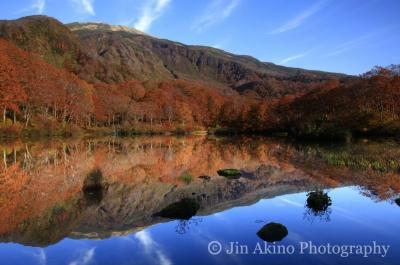日本の自然風景-鳥海山麓